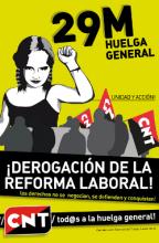 La CNT-AIT es appelle et construit une grève générale pour le 29 mars web_imagen_29mcnt