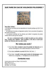 Communiqué du RAD ...Que faire en cas de violences policières?... que-faire-en-cas-de-violences-policieres1-200x300