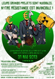 Soirée de soutien ZAD Notre Dame des Landes (comité-63) à Clermont Ferrand le 31 mai affiche_31_mai12-212x300
