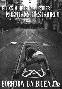 Soutien à la grève générale au Pays Basque pegata-1-211x300